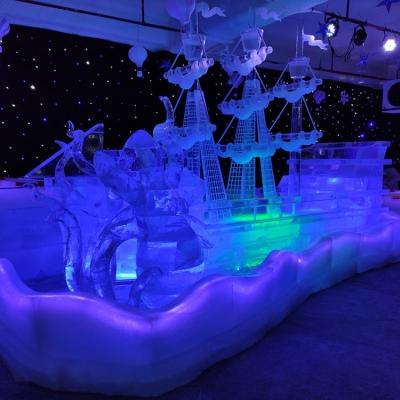 惠州冰雕展览 房地产哈尔滨冰雕雕刻制作活动策划 众暖熊商标品牌 冰雕冷库